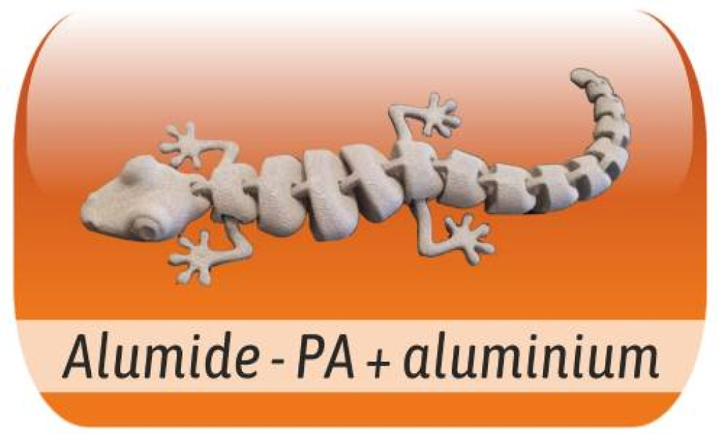 Alumide - PA charged with Aluminium