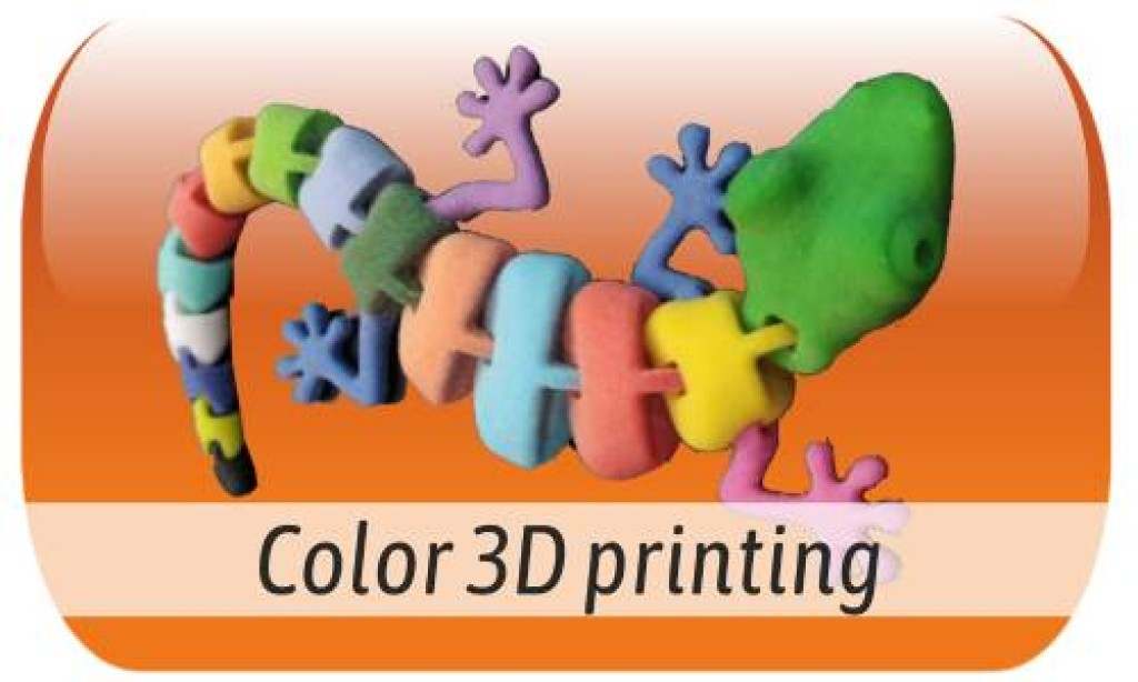 3D color printing