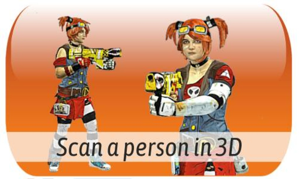 Scan a body or person in 3D bodyscan